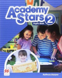 Учебник Academy Stars 2 Pupil's Book (Edition for Ukraine), автор Kathryn Harper, в-во Macmillan Education